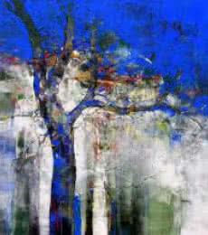 Nature Tree | Painting by artist Bhaskar Rao | acrylic | Canvas