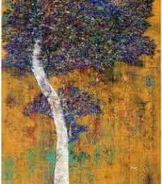 Treescape III | Painting by artist Bhaskar Rao | acrylic | Canvas