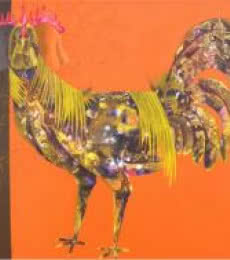 The Beautiful Hen | Painting by artist Abhiram Bairu | acrylic | Canvas