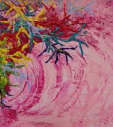 Armonia 40x40 | Painting by artist Francesca Monico | Acrylic | Canvas