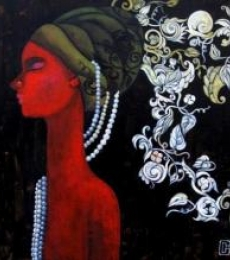 Designs Of A Thinking Mind | Painting by artist Suruchi Jamkar | acrylic | Canvas