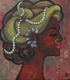 Contentment | Painting by artist Suruchi Jamkar | acrylic | Canvas