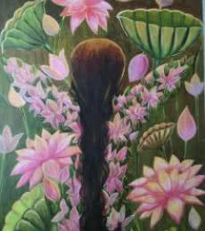 Rejuvenation | Painting by artist Devirani Dasgupta | mixed-media | Canvas Paper