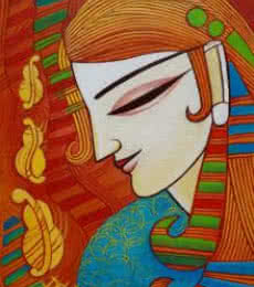Melody | Painting by artist DEVIRANI DASGUPTA | acrylic | Canvas Board