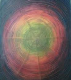 Way To Eternity | Painting by artist Devirani Dasgupta | mixed-media | Canvas Paper