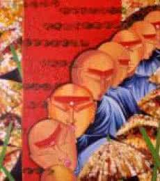 Banaras  | Painting by artist Deepali Mundra | acrylic | Canvas