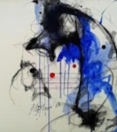 Horse II | Painting by artist Mithun Dutta | mixed-media | Board