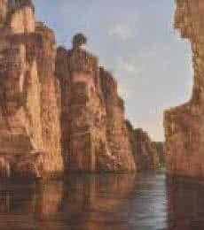 Mountains | Painting by artist Durshit Bhaskar | oil | Canvas
