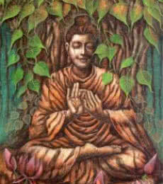 Buddha | Painting by artist Darshan Sharma | oil | Canvas