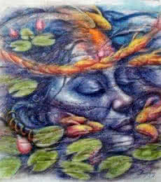 Darshan Sharma | Oil Painting title Eternal Beauty 3 on Canvas | Artist Darshan Sharma Gallery | ArtZolo.com