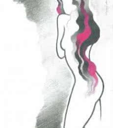 Smooth as silk | Drawing by artist Manoj Gujral |  | pencil | Canvas