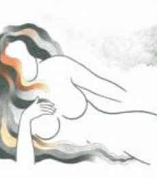 Greedy girl | Drawing by artist Manoj Gujral |  | pencil | Canvas