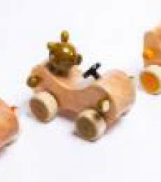 Dhoom III Wooden Toy Cars | Craft by artist Vijay Pathi | wood