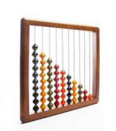 Oody Wooden Abacus | Craft by artist Vijay Pathi | wood