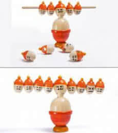 Oodees Toys | Ravana Balancing Wooden Toy Craft Craft by artist Oodees Toys | Indian Handicraft | ArtZolo.com