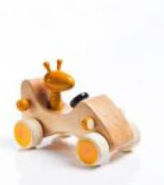 Zeppo Wooden Toy Car | Craft by artist Vijay Pathi | wood