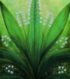Seby Augustine | Acrylic Painting title Natures Symmetry on Canvas | Artist Seby Augustine Gallery | ArtZolo.com