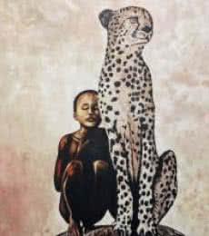 The tribe | Painting by artist Gunjan Adya | acrylic | Canvas