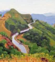 Amba Ghat | Painting by artist Tushar Patange | oil | Canvas