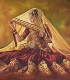 Sajawat | Painting by artist Kamal Rao | oil | Canvas