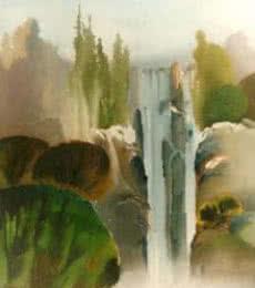Serenity | Painting by artist Joychandra Sharma | acrylic | Canvas