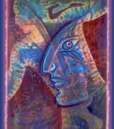Mario Castillo | Primal Trance State 17x24 Mixed media by artist Mario Castillo on digital art | ArtZolo.com