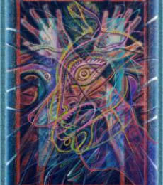 Mario Castillo | Rakshasa Shapeshifter 24x32 5 Mixed media by artist Mario Castillo on digital art | ArtZolo.com