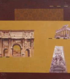 Indian Monument Wall Ii | Painting by artist Sanjay | acrylic | Canvas
