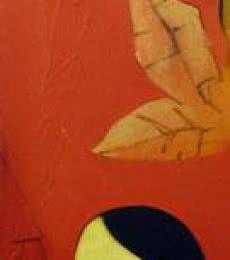 Figurative Acrylic Art Painting title The Waiting Girl by artist Giram Eknath