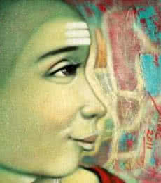 Batu | Painting by artist Apet Pramod | acrylic | Canvas