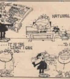 Mario Miranda Original C 60 | Drawing by artist Mario Miranda |  | Pen&Ink | Paper