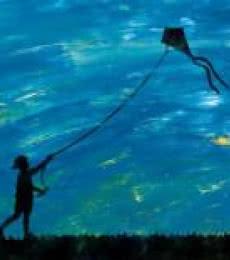 Kite | Digital_art by artist Suraj Lazar | Art print on Canvas