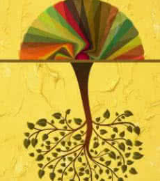 Tree | Digital_art by artist Suraj Lazar | Art print on Canvas