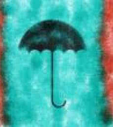 Umbrella | Digital_art by artist Suraj Lazar | Art print on Canvas