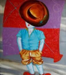 The aureole of childhood ii | Painting by artist Shiv Kumar Soni | acrylic | Canvas