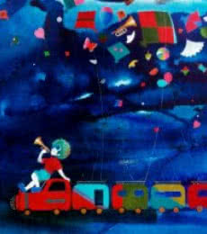 Lifestyle Acrylic Art Painting title 'Passion of the childhood vii' by artist Shiv Soni