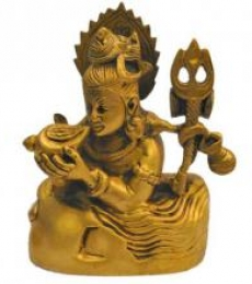 Brass Shiva Statue | Craft by artist Brass Art | Brass