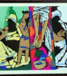 Theorama Series III | Painting by artist M F husain | other | serigraph