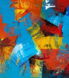 Cobalt | Painting by artist Siddhesh Rane | acrylic | Canvas