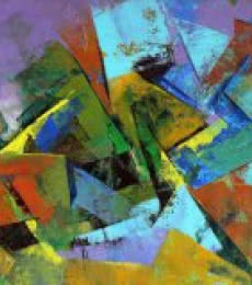 Multi Color Abstract   Painting by artist Siddhesh Rane   acrylic   Paper