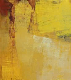 Yellow Vertical Abstract II | Painting by artist Siddhesh Rane | acrylic | Canvas