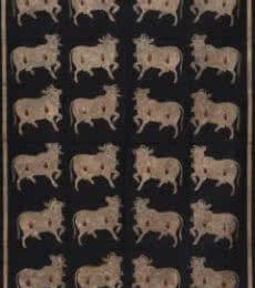 Folk Art Tribal Art Painting title The Cow Pichwai Art by artist Artisan
