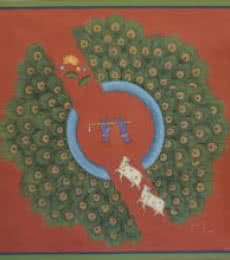 Pichwai | Painting by artist Pushkar Lohar | other | Cloth