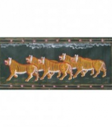 TIGER | Painting by artist Indian Miniture | watercolor | Others