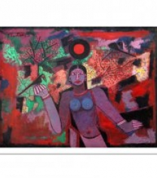 A.P.S. EASTER RAJ | Oil Painting title UNTITLED on Canvas | Artist A.P.S. EASTER RAJ Gallery | ArtZolo.com