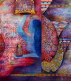 UNTITLED | Painting by artist POONAM AGARWAL | acrylic | Canvas