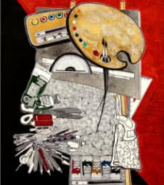 SHISHIR BHATT | Acrylic Painting title UNTITLE on Canvas | Artist SHISHIR BHATT Gallery | ArtZolo.com