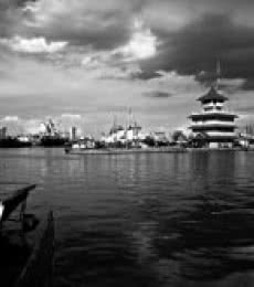 Tanjung Mas Harbour   Photography by artist Rahmat Nugroho   Art print on Canvas