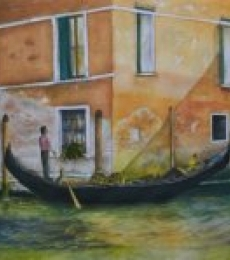 Venetian Hues-II | Painting by artist Niharika Gupta | watercolor | Paper