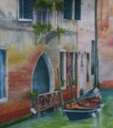 Venetian Hues - III | Painting by artist Niharika Gupta | watercolor | Paper